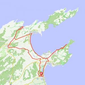 Route 100 - Playa de Muro - Ermita de Victoria - Port de Pollenca - Cala Sant Vincent - Pollenca - Playa de Muro